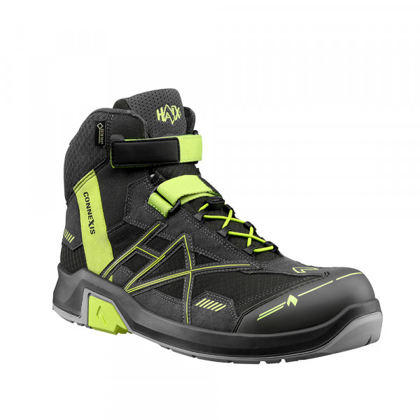 HAIX CONNEXIS Safety GTX S3 mid/grey-citrus