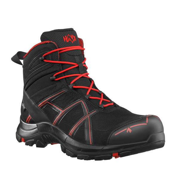 HAIX Black Eagle Safety 40.1 Mid black/red