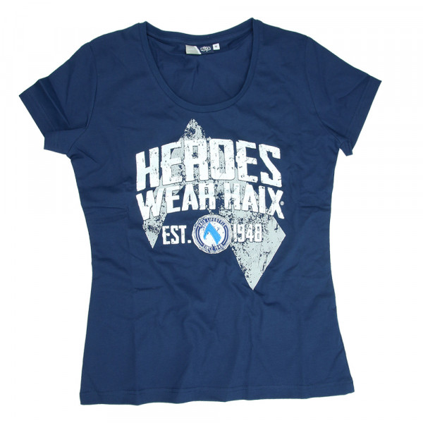 HAIX Helden Shirt Dames blauw
