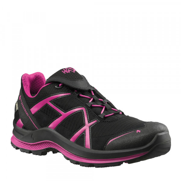 HAIX Black Eagle Adventure 2.0 Ws GTX low/black-magenta